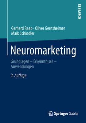 Raab / Gernsheimer / Schindler | Neuromarketing | Buch | sack.de