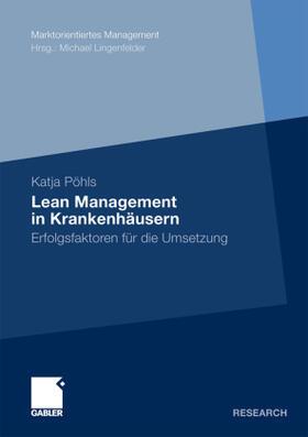 Pöhls | Lean Management in Krankenhäusern | Buch | sack.de