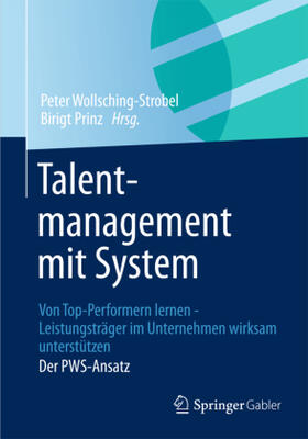 Wollsching-Strobel / Prinz | Talentmanagement mit System | Buch | sack.de