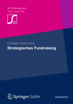 Gahrmann | Strategisches Fundraising | Buch | sack.de