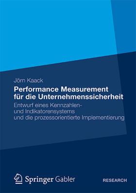 Kaack   Performance-Measurement für die Unternehmenssicherheit   Buch   sack.de