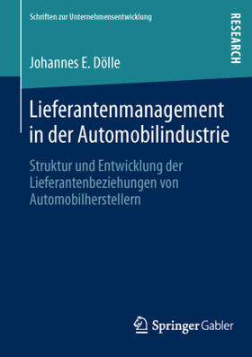 Dölle | Lieferantenmanagement in der Automobilindustrie | Buch | sack.de