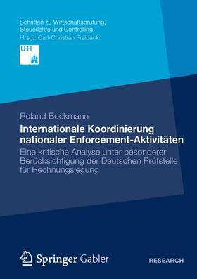 Bockmann | Internationale Koordinierung nationaler Enforcement-Aktivitäten | Buch | sack.de