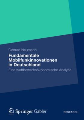 Neumann | Fundamentale Mobilfunkinnovationen in Deutschland | Buch | sack.de