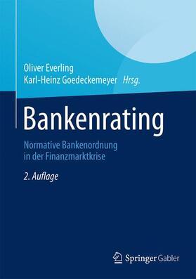 Everling / Goedeckemeyer | Bankenrating | Buch | sack.de