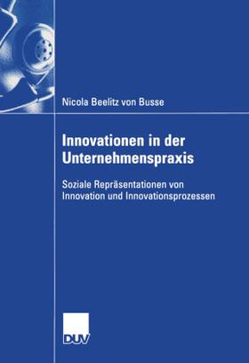 Beelitz von Busse | Innovationen in der Unternehmenspraxis | Buch | sack.de
