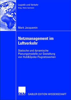 Jacquemin | Netzmanagement im Luftverkehr | Buch | sack.de