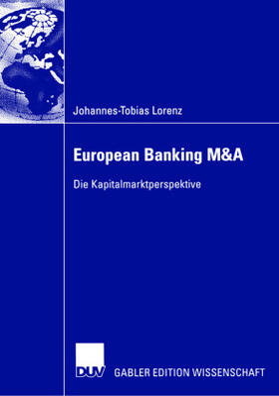 Lorenz | European Banking M&A | Buch | sack.de