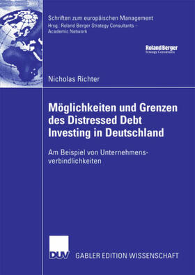 Richter | Möglichkeiten und Grenzen des Distressed Debt Investing in Deutschland | Buch | sack.de