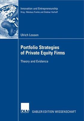 Lossen | Portfolio Strategies of Private Firms | Buch | sack.de