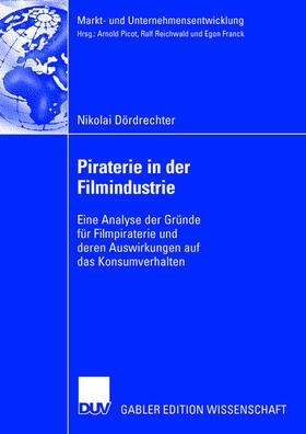 Dördrechter | Piraterie in der Filmindustrie | Buch | sack.de