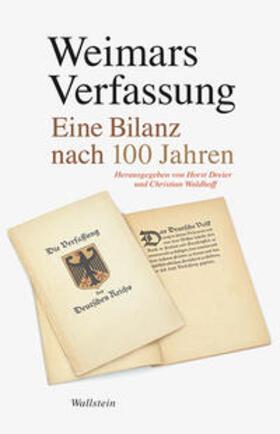 Waldhoff / Dreier | Weimars Verfassung | Buch | sack.de