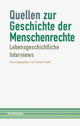 Stahl | Quellen zur Geschichte der Menschenrechte | Buch | sack.de