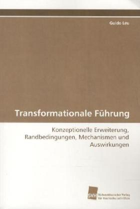 Transformationale Führung | Buch | sack.de