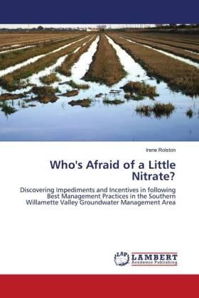 Who's Afraid of a Little Nitrate? | Buch | sack.de