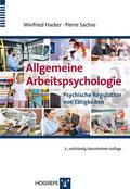 Hacker / Sachse / Hacker    Allgemeine Arbeitspsychologie   eBook   Sack Fachmedien