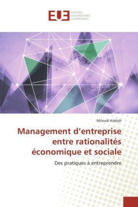 Management d'entreprise entre rationalités économique et sociale | Buch | sack.de