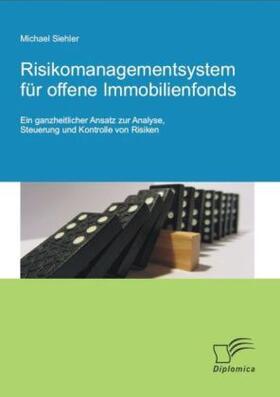 Risikomanagementsystem für offene Immobilienfonds   Buch   sack.de