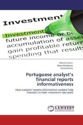 Portuguese analyst's financial reports informativeness   Buch   sack.de