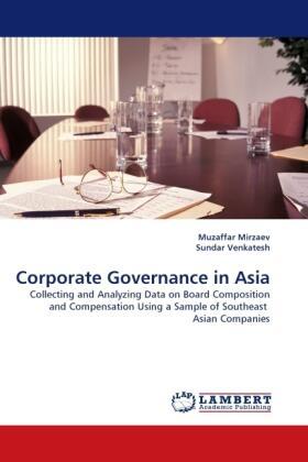 Corporate Governance in Asia | Buch | sack.de