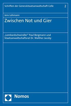 Lehmann   Zwischen Not und Gier   E-Book   sack.de