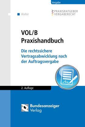 Walter | VOL/B Praxishandbuch | Buch | Sack Fachmedien