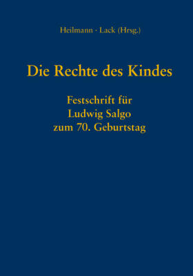 Heilmann / Lack   Die Rechte des Kindes   Buch   sack.de