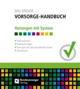Das Große Vorsorge-Handbuch | Loseblattwerk | sack.de