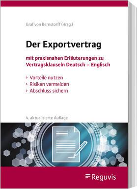Bernstorff | Der Exportvertrag | Buch | sack.de