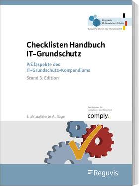 Checklisten Handbuch IT-Grundschutz | Buch | sack.de