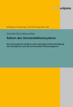 Schultewolter   Reform des Gemeindefinanzsystems   Buch   sack.de