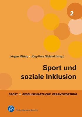Mittag / Nieland | Sport und soziale Inklusion | Buch | sack.de