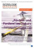 """""""Fördern und Fordern"""" im Diskurs"""