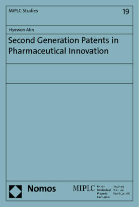 Ahn | Second Generation Patents in Pharmaceutical Innovation | Buch | sack.de