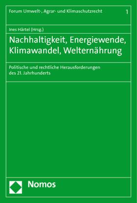 Härtel | Nachhaltigkeit, Energiewende, Klimawandel, Welternährung | Buch | sack.de