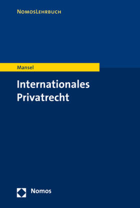 Mansel | Internationales Privatrecht | Buch | sack.de