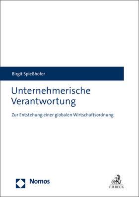 Spießhofer   Unternehmerische Verantwortung   Buch   sack.de