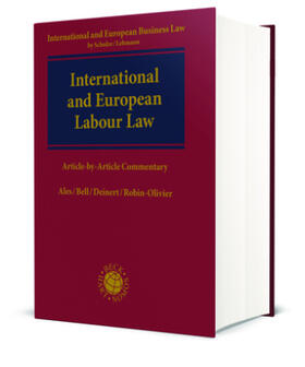 Bell / Deinert / Ales | International and European Labour Law | Buch | Sack Fachmedien