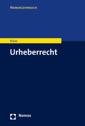 Klass   Urheberrecht   Buch   Sack Fachmedien
