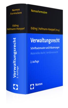 Eiding / Hofmann-Hoeppel | Verwaltungsrecht, m. CD-ROM | Buch | Sack Fachmedien