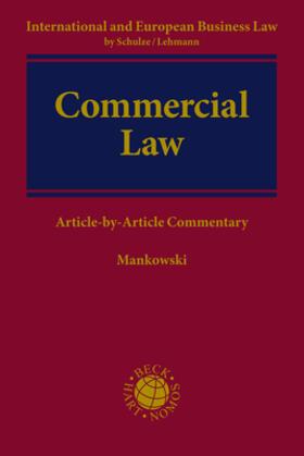 Mankowski | Commercial Law | Buch | Sack Fachmedien