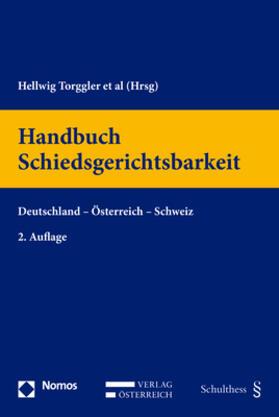 Torggler / Mohs / Schäfer | Handbuch Schiedsgerichtsbarkeit | Buch | sack.de