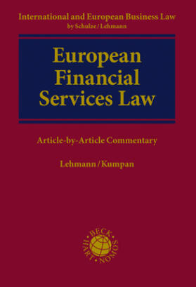 Lehmann / Kumpan | European Financial Services Law | Buch | sack.de