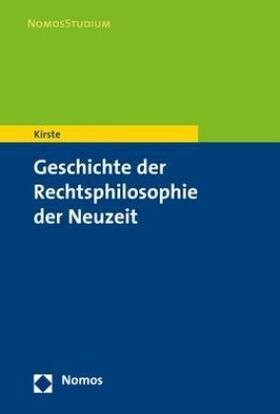 Kirste | Geschichte der Rechtsphilosophie der Neuzeit | Buch | sack.de