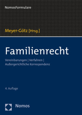 Meyer-Götz | Familienrecht | Buch | Sack Fachmedien