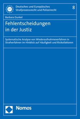 Dunkel | Fehlentscheidungen in der Justiz | Buch | sack.de