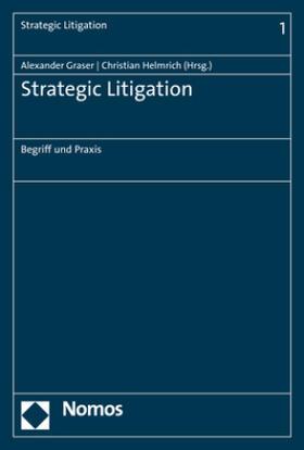 Graser / Helmrich   Strategic Litigation   Buch   sack.de