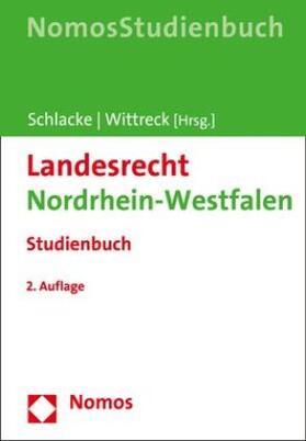 Schlacke / Wittreck | Landesrecht Nordrhein-Westfalen | Buch | sack.de