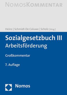 Heinz / Schmidt-De Caluwe / Scholz | Sozialgesetzbuch III | Buch | sack.de