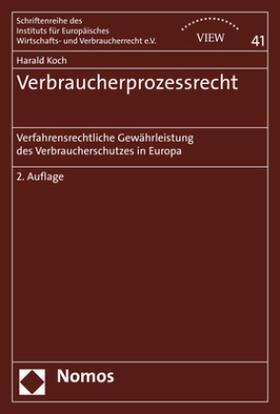 Koch | Verbraucherprozessrecht | Buch | sack.de